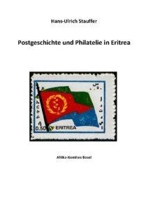 Cover der Broschüre Postgeschichte und Philatelie in Eritrea