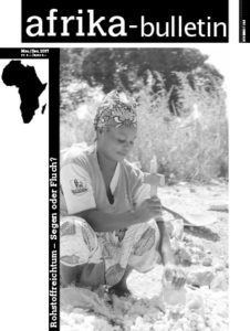 Cover Afrika-Bulletin 168